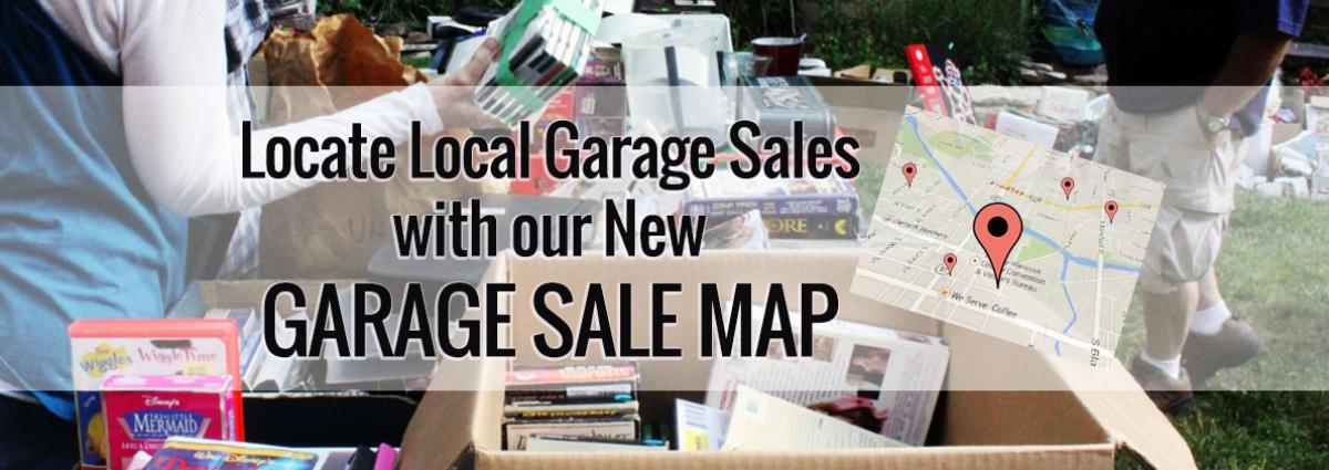 garage sale map slider