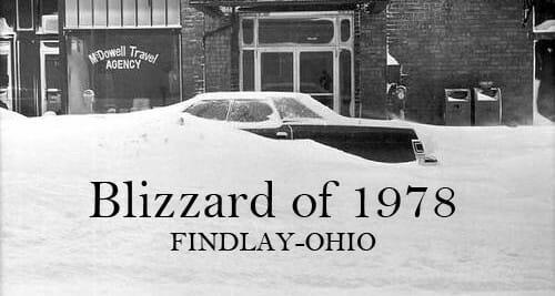 Findlay Ohio Blizzard Of 1978 Social Findlay