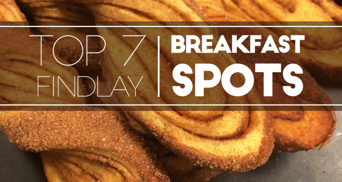 Top 7 Breakfast Spots in Findlay, OH
