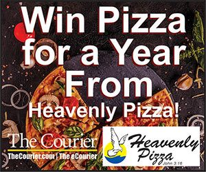 Pizza for a Year Contest | The Courier and Heavenly Pizza!